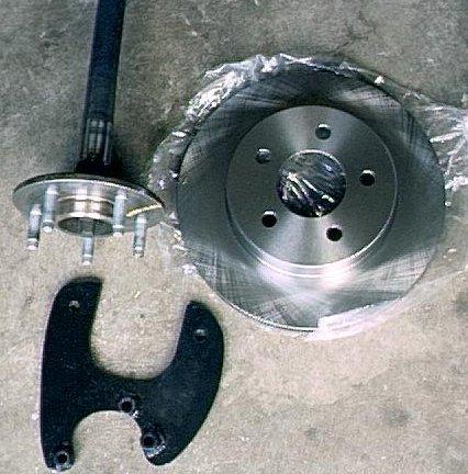 Cost To Turn Rotors >> Bob Johnstone's Studebaker and Avanti Page (Steel-Tech Rear Disk Brake - Avanti)