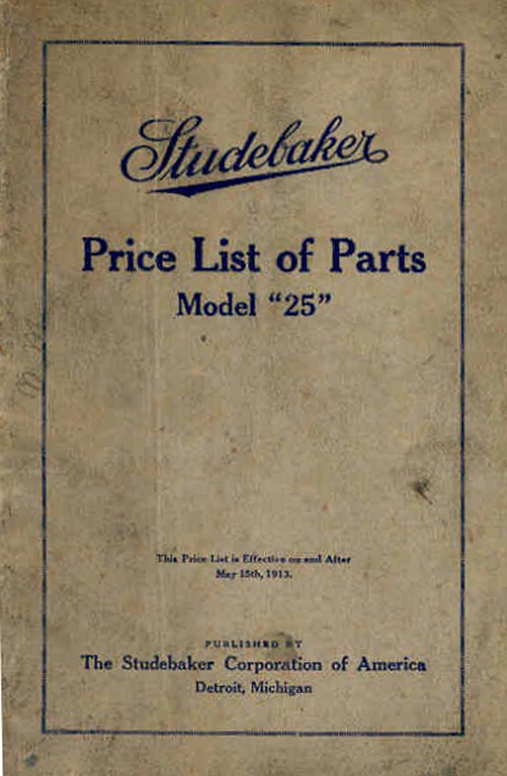 Bobs Studebaker Resource Websitestudebaker Cars Of The Years Electrical Wiring Diagram For 1941 1948 All Trucks 1913 Sa Four Parts Manual