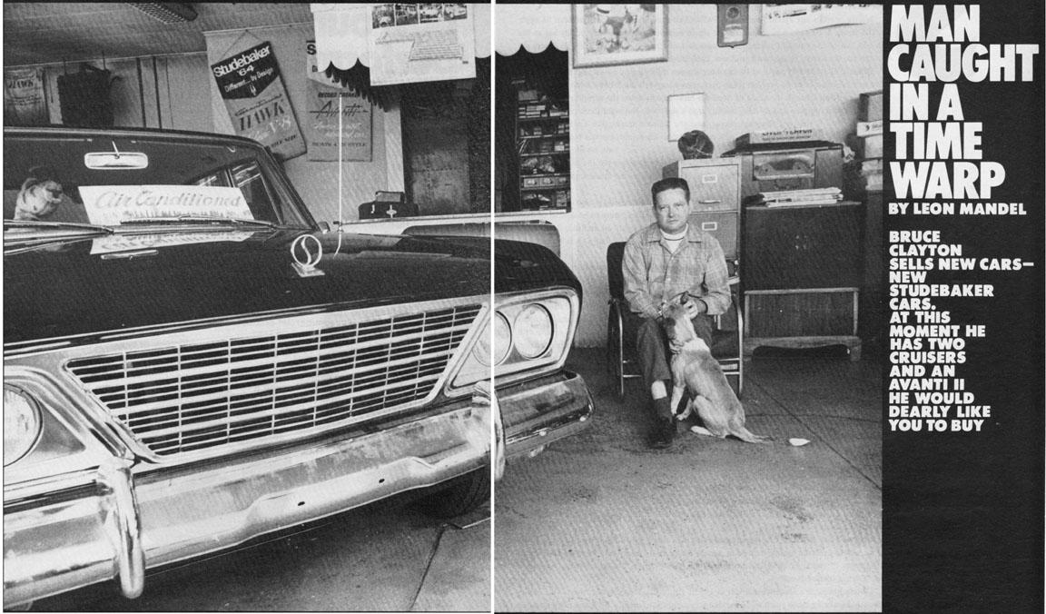 Bob Johnstones Studebaker Resource Website Clayton Motors