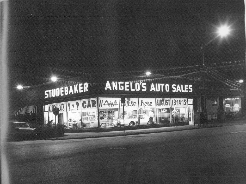 Angelos Auto Sales >> Bob's Studebaker Resource Website Studebaker Dealer Listing - Illinois State page