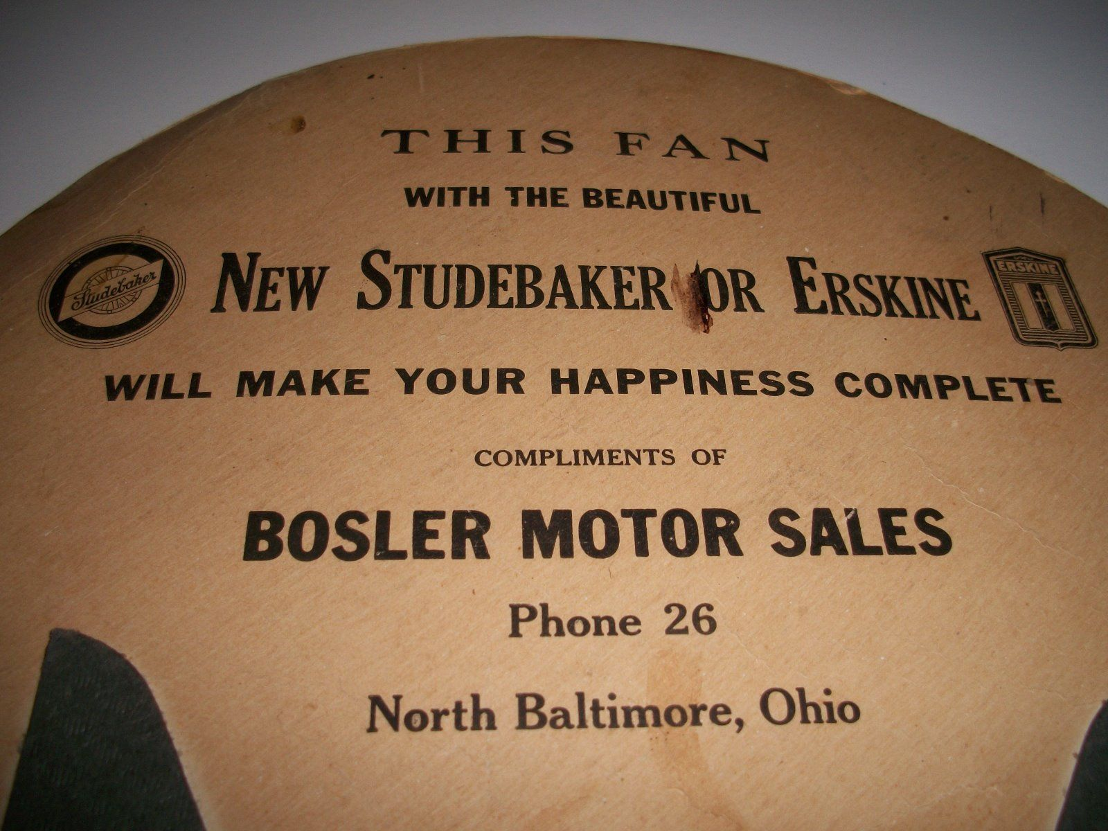 Studebaker Dealer Listing Ohio State Page