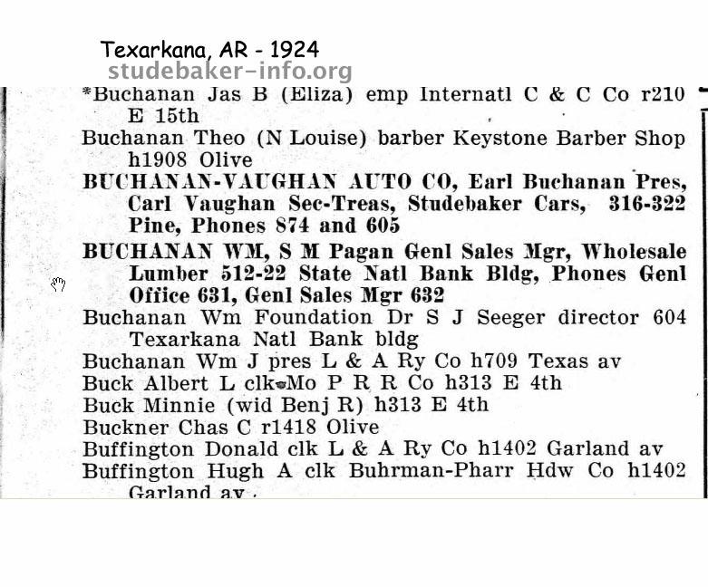 North Broadway Auto Sales >> Bob's Studebaker Resource Website Studebaker Dealer ...