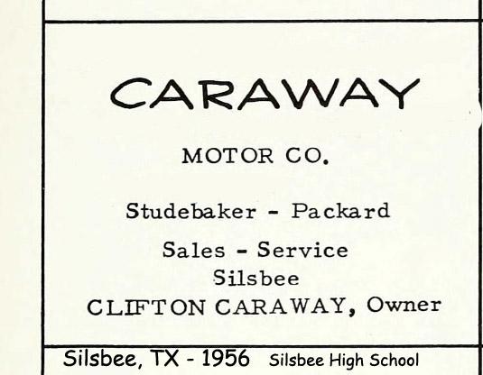 Silsbee Motor Company >> Bob's Studebaker Resource Website Studebaker Dealer Listing - Texas State page
