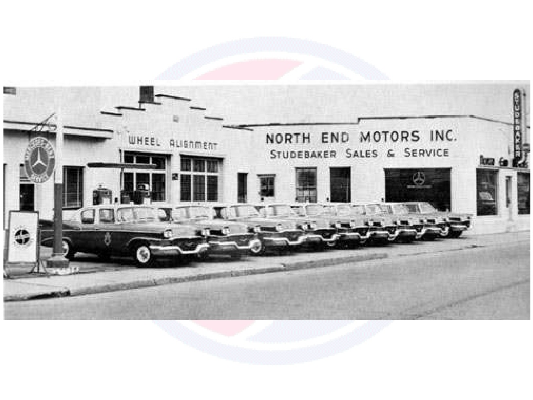 Northend Garage 439 N Main St Barre Vt C 1956