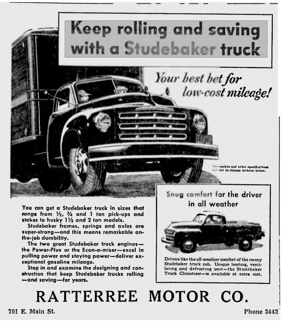 bob 39 s studebaker resource website studebaker dealer listing south carolina state page. Black Bedroom Furniture Sets. Home Design Ideas
