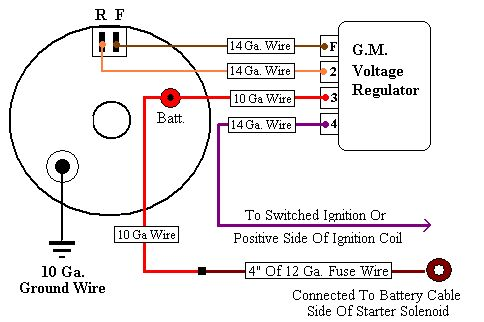 10dnwiringb gm external voltage regulator wiring diagram gm wiring diagrams  at edmiracle.co