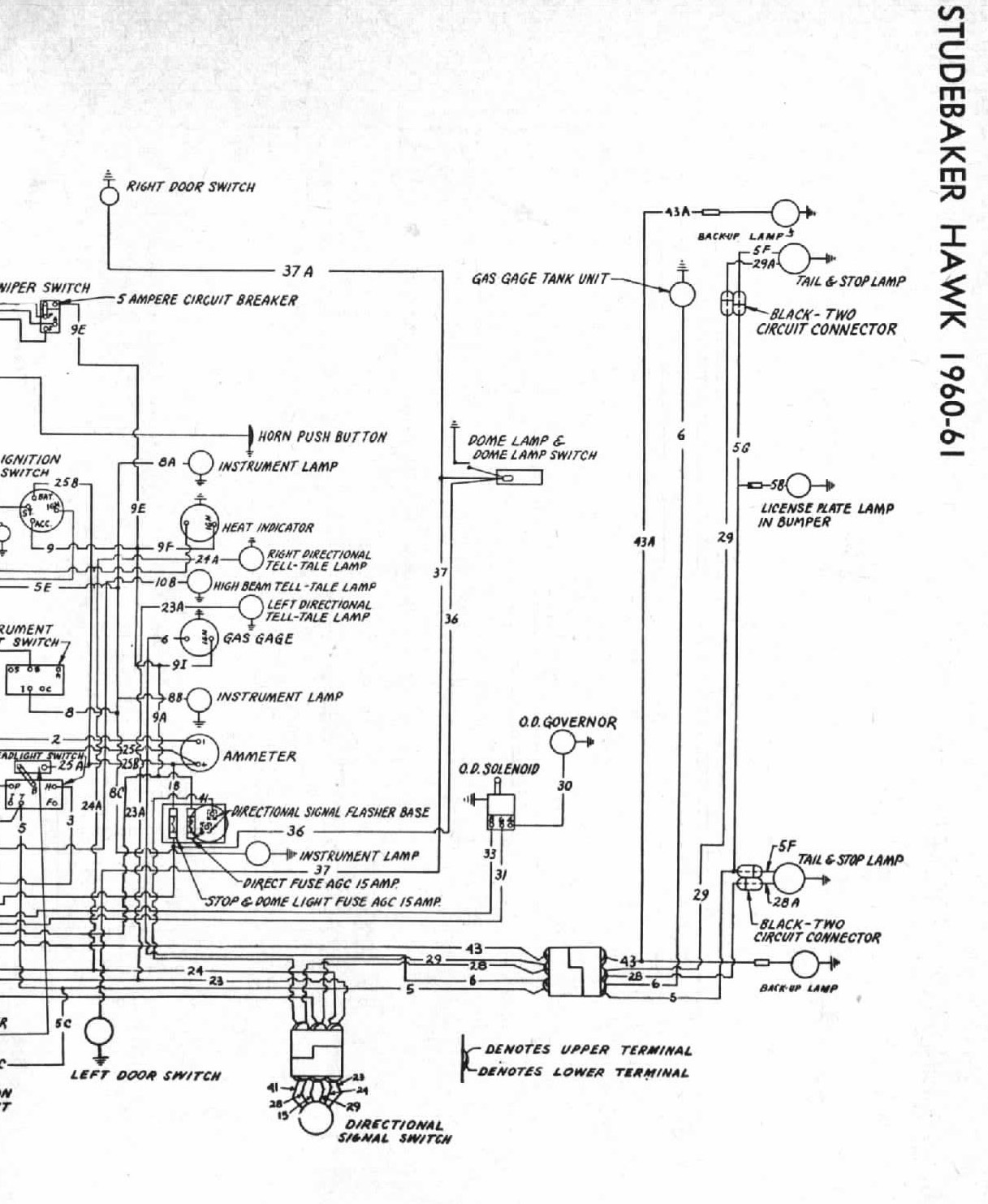 1964 avanti wiring diagram automotive wiring diagram u2022 rh nfluencer co 1968 Avanti 1964 Avanti Colors