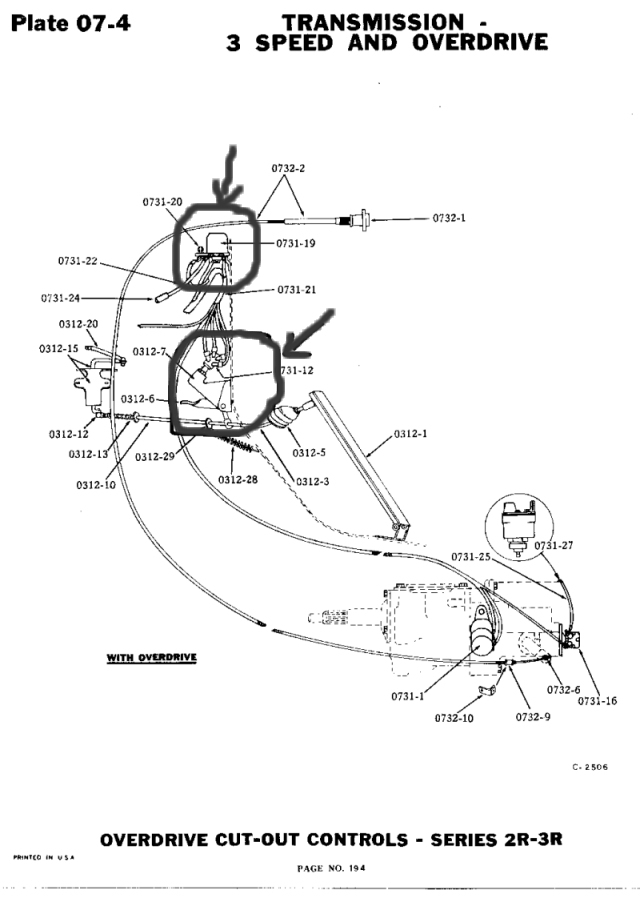 1950 studebaker champion overdrive wiring diagram   49