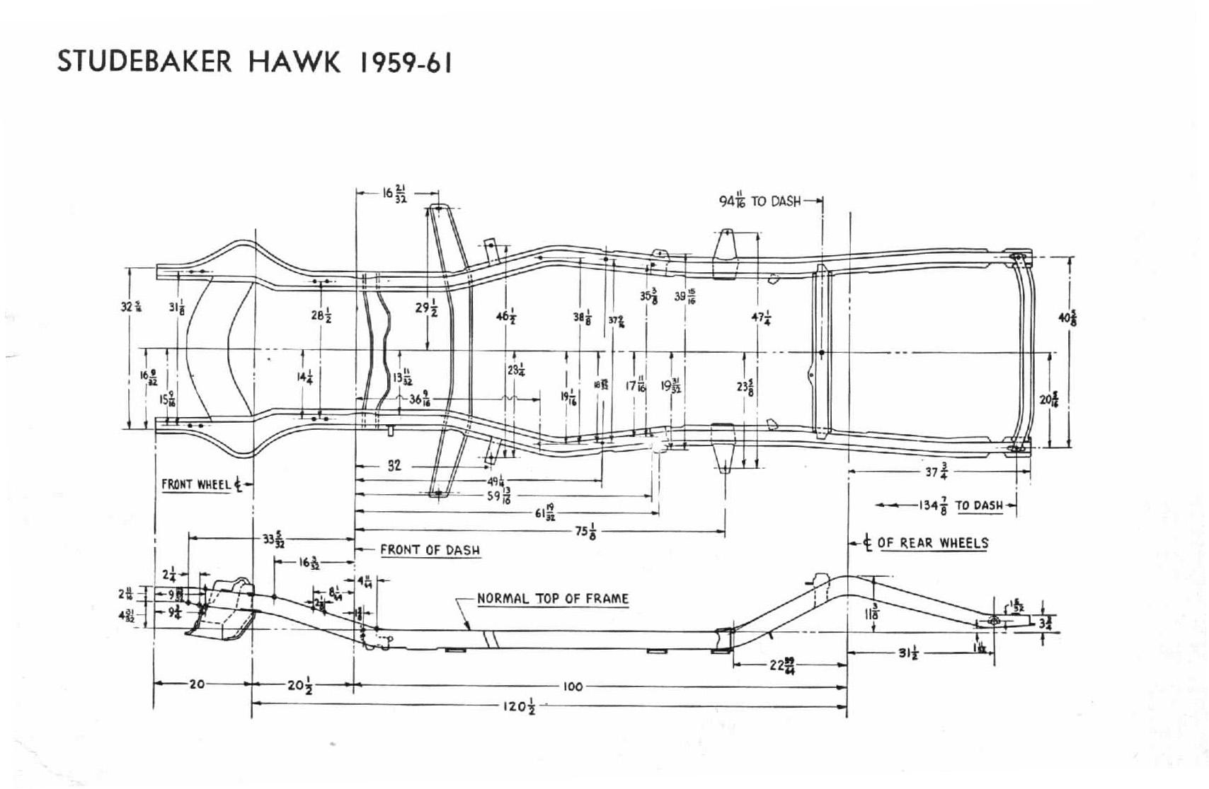 Bob Johnstones Studebaker And Avanti Page 1960 Lark Wiring Diagram Hawk 59 61