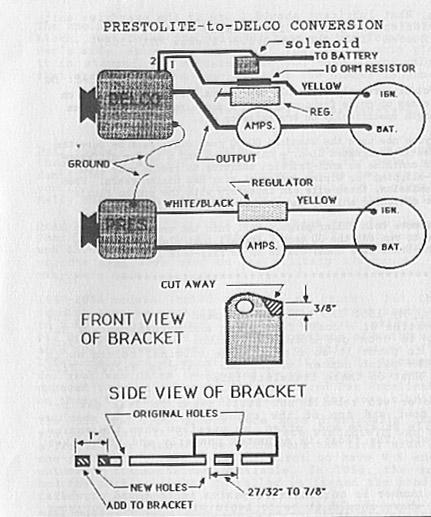 Rewiring '64 Hawk w/ GM alternator