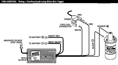 Ford Small Block Distributor Rotation additionally Ignitions additionally Ford Msd Ignition Wiring Diagram besides Pertronix Wiring Diagram also Vacuum Advance Distributor Diagram. on pertronix distributor ford