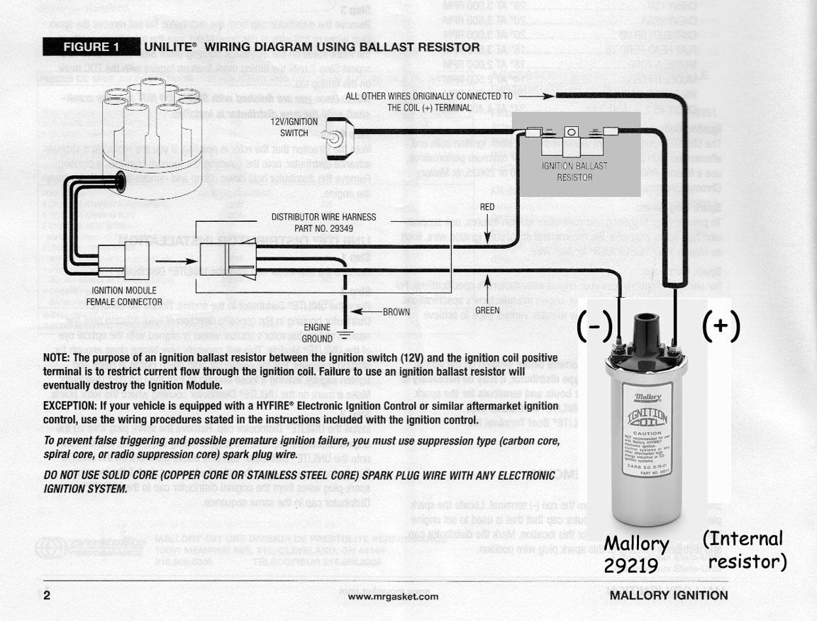 mallory unilite wiring harness unilite free printable wiring diagrams