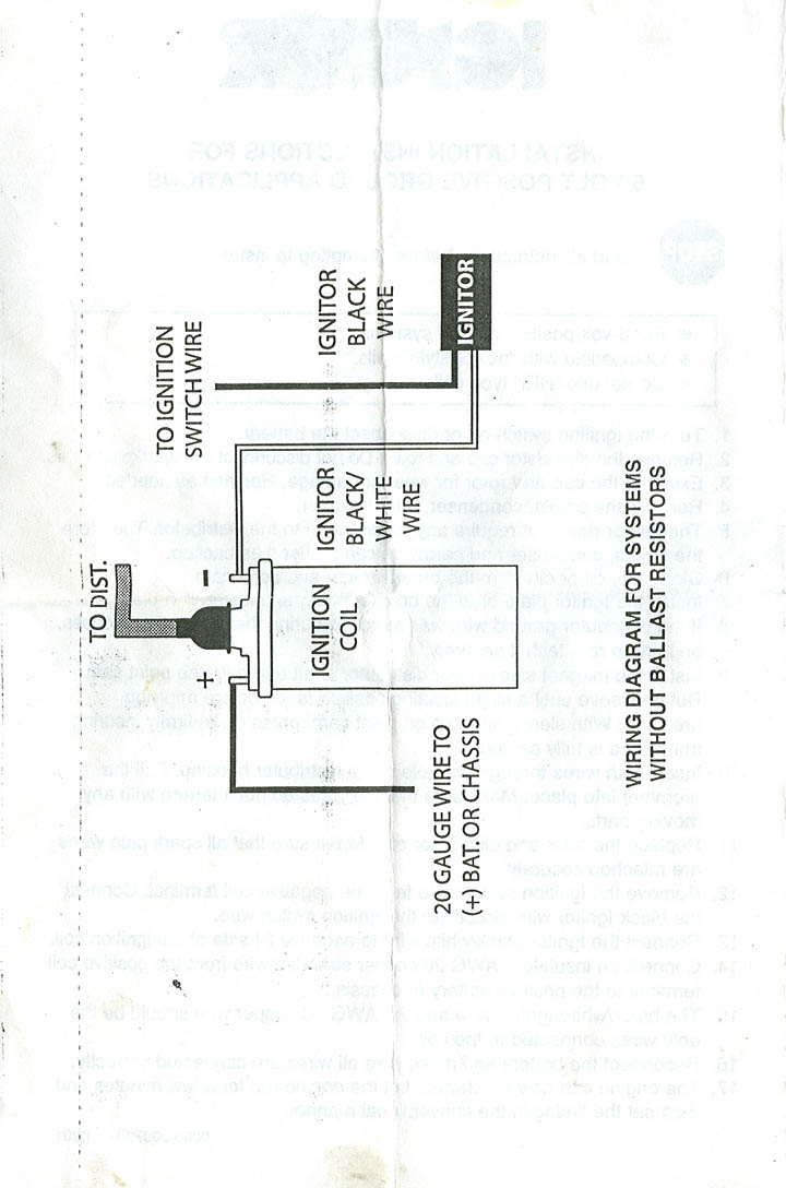 positive ground wiring diagram positive image 6 volt positive ground wiring diagram 6 image on positive ground wiring diagram
