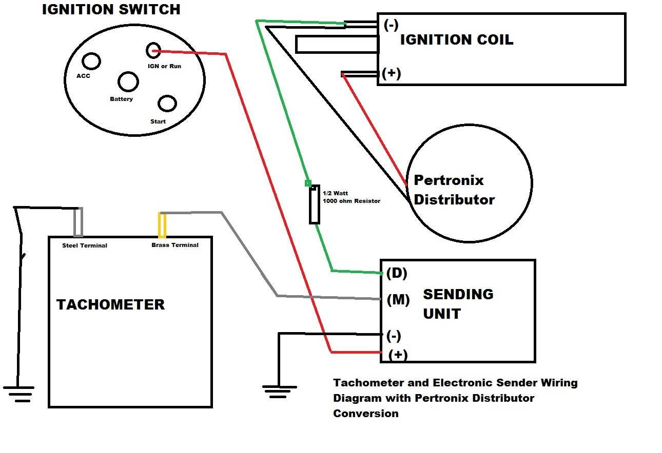 Switch Wiring Diagram Car On Electronic Tachometer Wiring Diagram