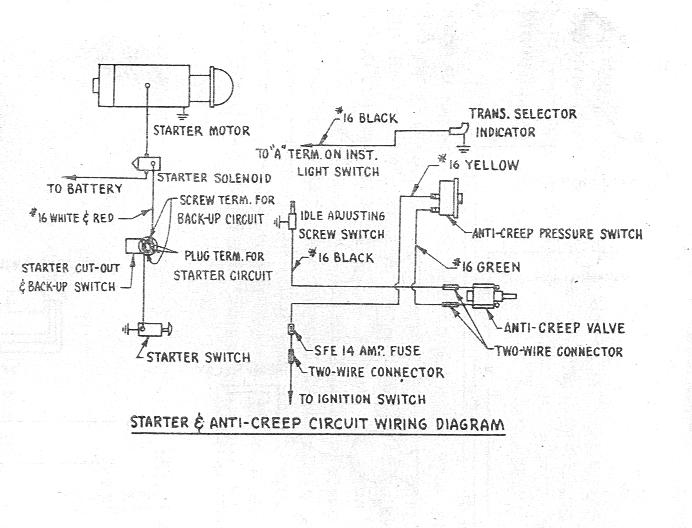 proportioning valve wiring diagram bob johnstones studebaker resource website  brake systems on  bob johnstones studebaker resource