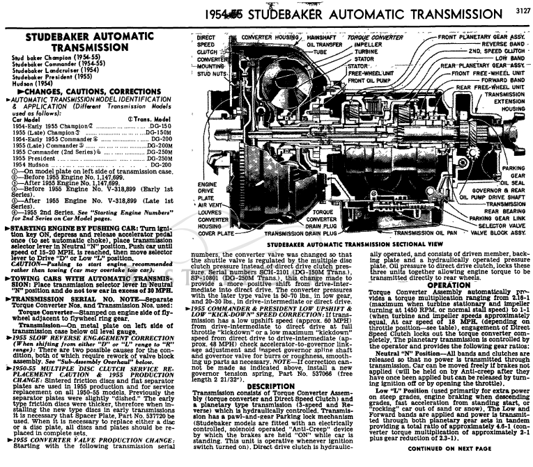 Low Brake Fluid >> Bob's Studebaker Resource and Information Portal - DG-200 ...