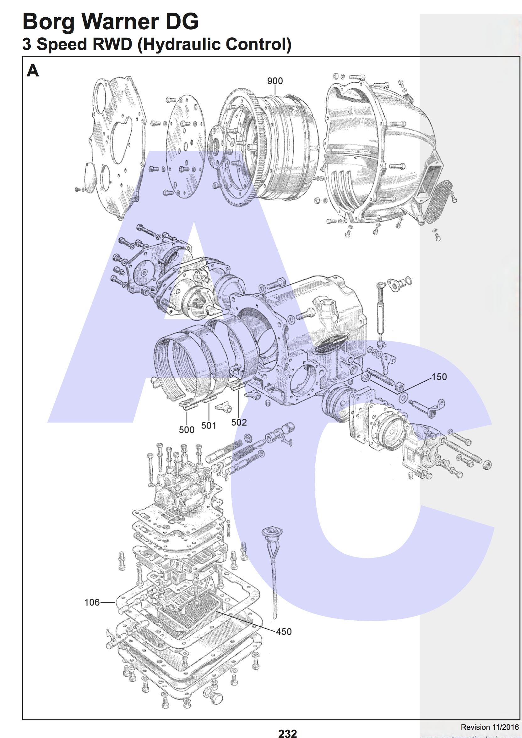 Bobs Studebaker Resource And Information Portal Dg 200 Automatic Borg Warner Truck Wiring Diagram Part Manual Pages Page 232