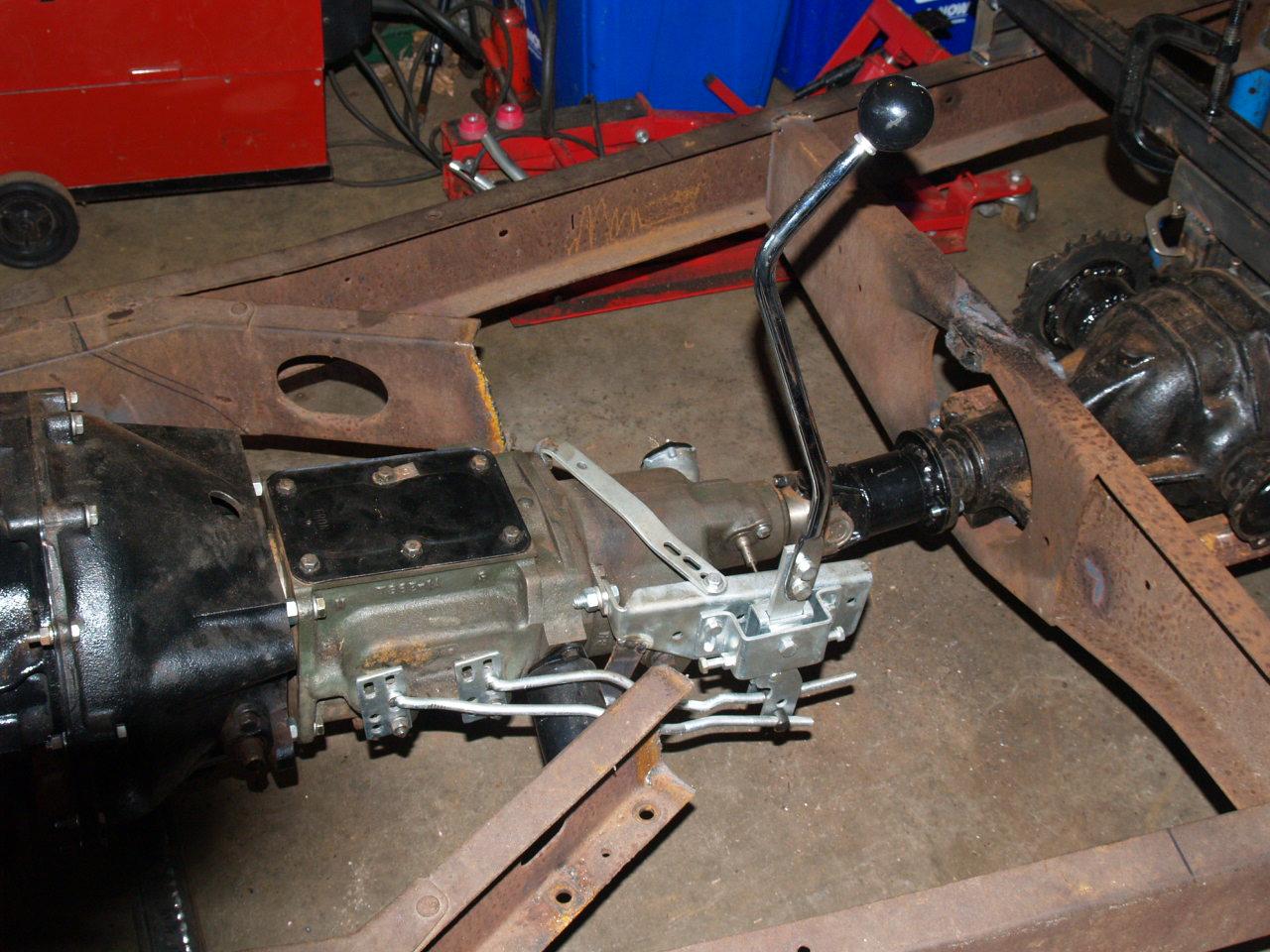 3 Speed Floor Shifter Conversion Mr Gasket 7667