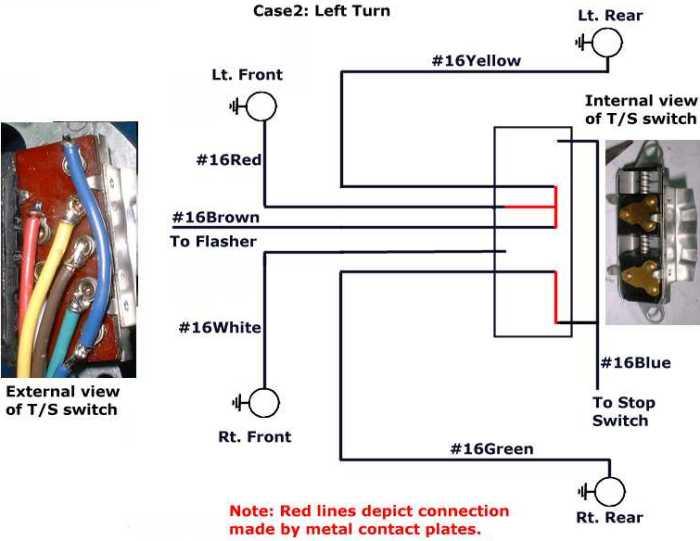[SCHEMATICS_4HG]  How do the turn signals work? | Brake Lamp Wiring Diagram Factory Five |  | Studebaker-Info