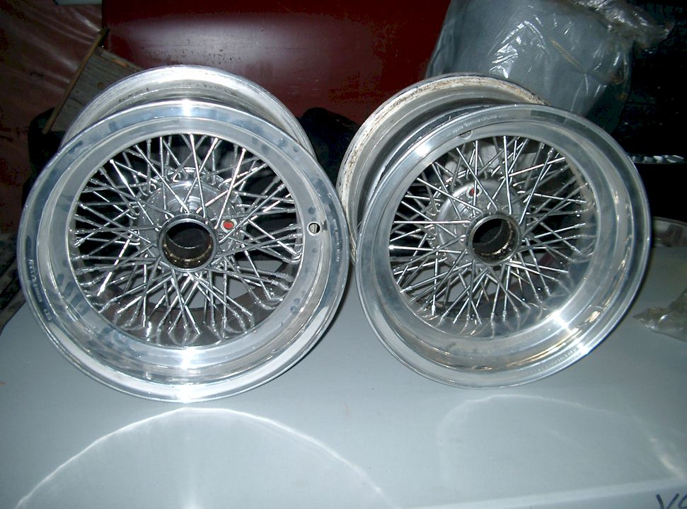 Wire Wheels: Borrani Wire Wheels