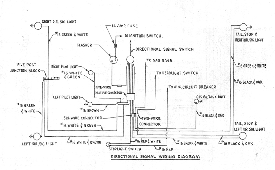 Bob Johnstones Studebaker Resource Website 1955 Studebaker 6 Volt Wiring Diagrams
