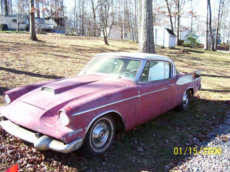 Bob Johnstones Studebaker Resource Website 58 Packard