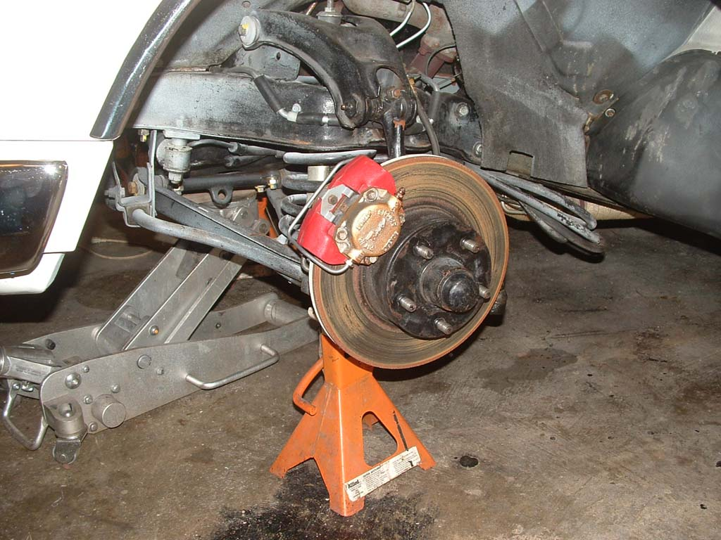 how to clean up brake discs