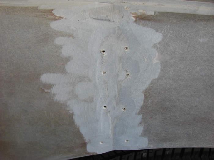 Fiberglass Hole Repair : Bob johnstones studebaker resource website avanti