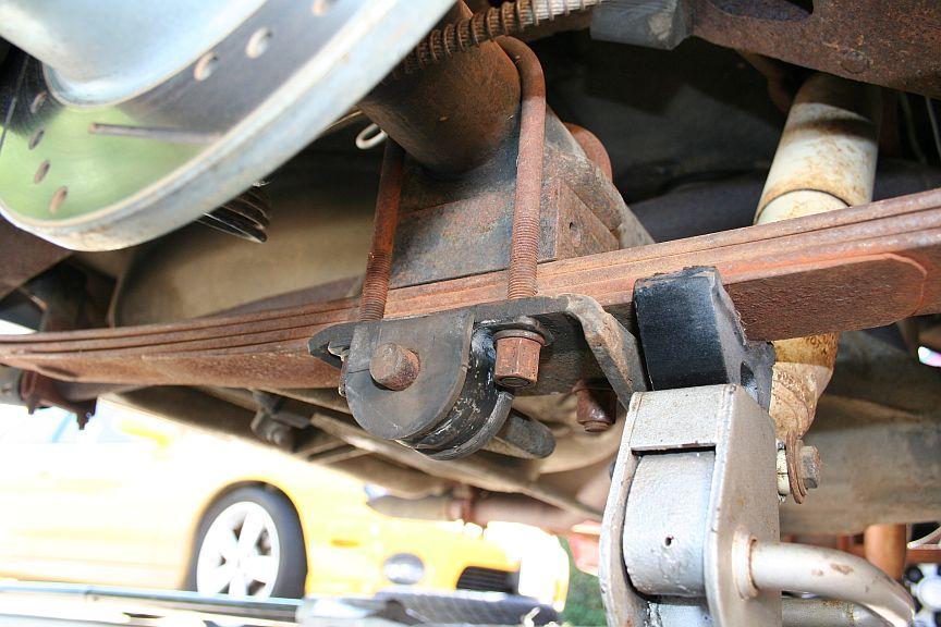 Rear Axle 1963 Avanti Rear Swaybar Bushings U Bolt